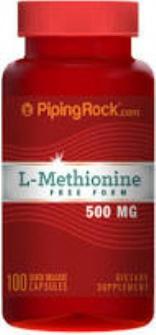 L-metionina 500mg Twinlab